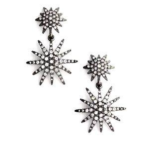 NORDSTROM TREASURE & BOND gunmetal ⭐️ earrings NWT